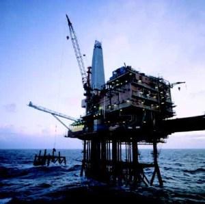 Oil Rig Indonesia